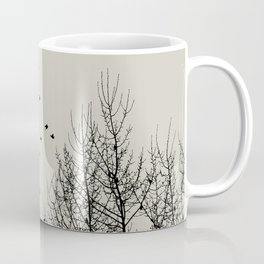 Come On Home - Graphic Birds Series, Plain - Modern Home Decor Coffee Mug