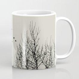 Come On Home - Graphic Birds Series, Plain - Modern Home Decor Coffee Mug