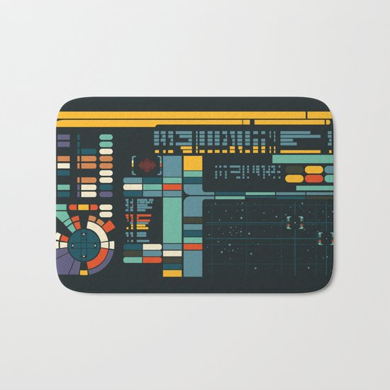 Control Interface Bath Mat