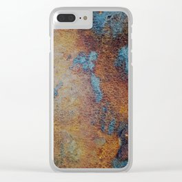 Pier Patina Clear iPhone Case