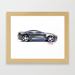 Sexy Coupé Framed Art Print