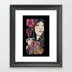 Tribal Artist Framed Art Print