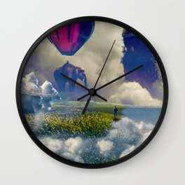 Let Yourself Be Guided Wall Clock