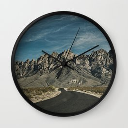 Organ Mountains Wall Clock