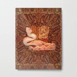 Kaa - Rudyard Kiplings Jungle Book Metal Print