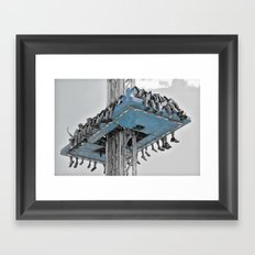 Fair Ride Framed Art Print