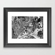 Jungle of Mind Framed Art Print