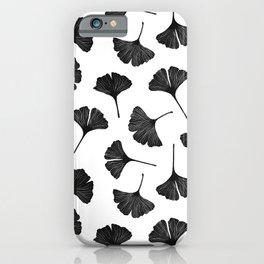 Ginkgo Biloba | Black Palette  iPhone Case