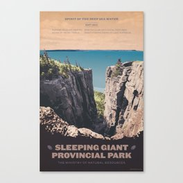 Sleeping Giant Provincial Park Canvas Print