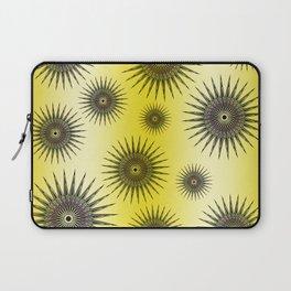Lemon Star Bursts Laptop Sleeve