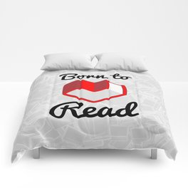Born to Read II Comforters