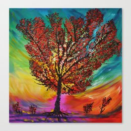 The Wow Tree Canvas Print