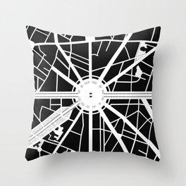 Arc de Triomphe. Paris Throw Pillow