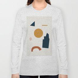 Abstract Shapes 8 Long Sleeve T-shirt
