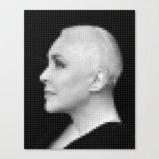 Lego: Elizabeth Taylor Canvas Print