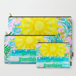 If You Can't See the Sunshine Be the Sunshine Carry-All Pouch