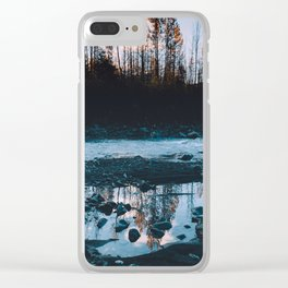 Rising Sun - Kenai Fjords National Park II Clear iPhone Case