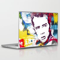 rebel Laptop & iPad Skins featuring Rebel by Paky Gagliano