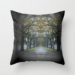 Nature's guard of Honour Throw Pillow