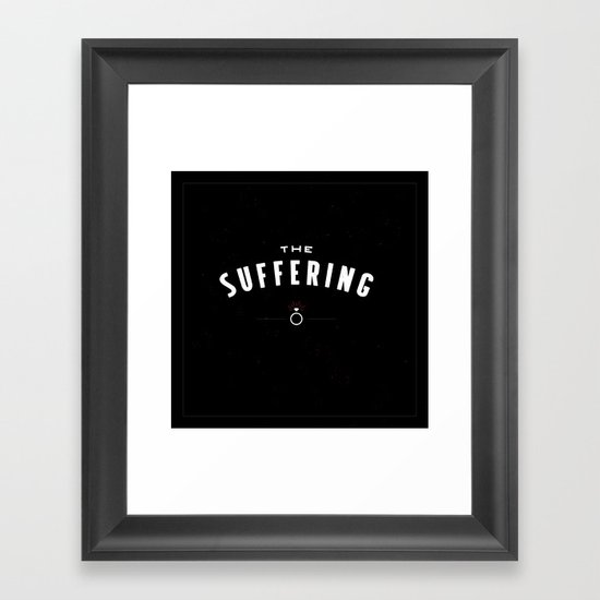 The Suffering Framed Art Print