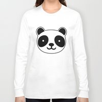 racing Long Sleeve T-shirts featuring Racing Panda by XOOXOO