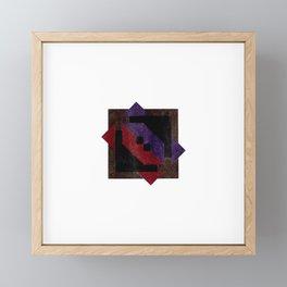 angled sketch Framed Mini Art Print