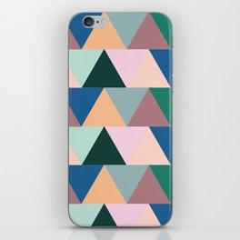 Triangular Geometric Pattern iPhone Skin