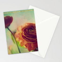 Painted Ranunculus Stationery Cards