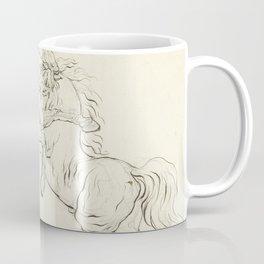 George Stubbs - Twee vechtende hengsten Coffee Mug