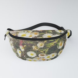 Wall of Daisies Fanny Pack