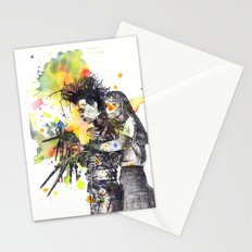 Edward Scissor Hands Stationery Cards