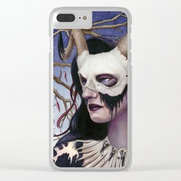Mortality Clear iPhone Case