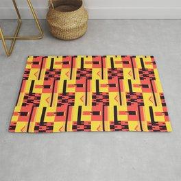 Kente Pattern Design Rug