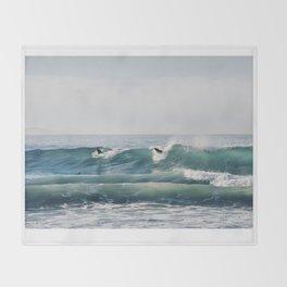 So Cal Surf Throw Blanket