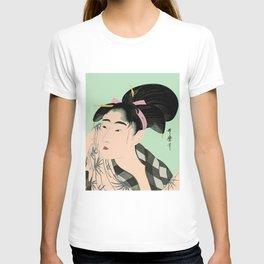 Utumaro #1 Green T-shirt