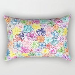 Flowers pattern Rectangular Pillow