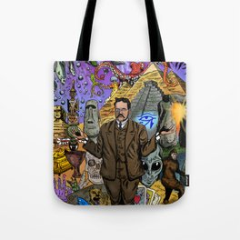 Charles Fort - Fortean Tote Bag