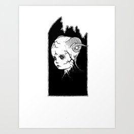 Demon Child Art Print
