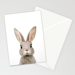 Baby Rabbit Portrait Stationery Cards