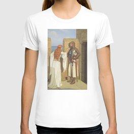 The Shadow - Edmund Blair Leighton T-shirt
