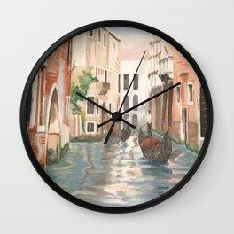 Mattina a Venezia Wall Clock