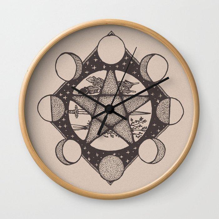 SACRED SPACE Wall Clock