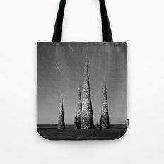 Grey black cones 4 Tote Bag