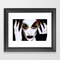 DIAMANDA Framed Art Print
