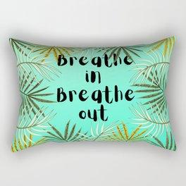 Green plants  Rectangular Pillow