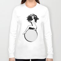 artrave Long Sleeve T-shirts featuring artRAVE by Greg21
