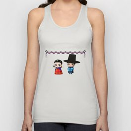 Korean Chibis Unisex Tank Top