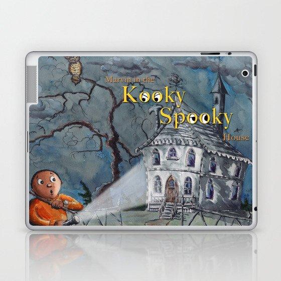 Marvin in the Kooky Spooky House Laptop & iPad Skin