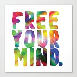 Free Your Mind. Canvas Print