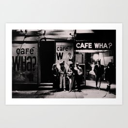 Greenwich Village Vintage Photography Art Print